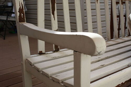 Before. How to remove high gloss latex paint from furniture    Hometalk