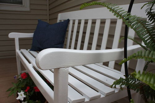 After. How to remove high gloss latex paint from furniture    Hometalk