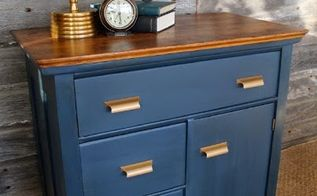 antique wash stand makeover, chalk paint, painted furniture