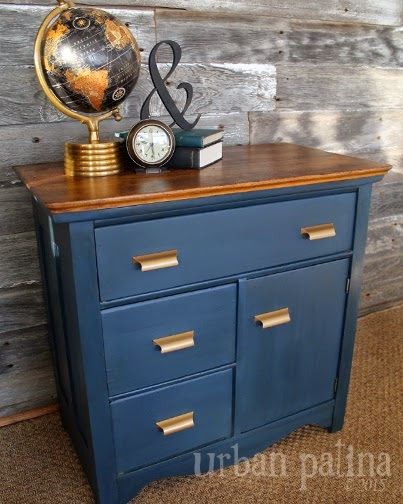 antique wash stand makeover, chalk paint, painted furniture - Antique Wash Stand Makeover Hometalk