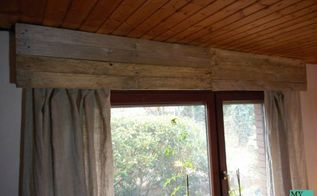disguise of a roller shutter box with instructions, how to, window treatments, windows, woodworking projects