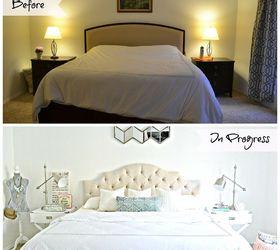 Chic Master Bedroom Makeover Update, Bedroom Ideas, Shabby Chic
