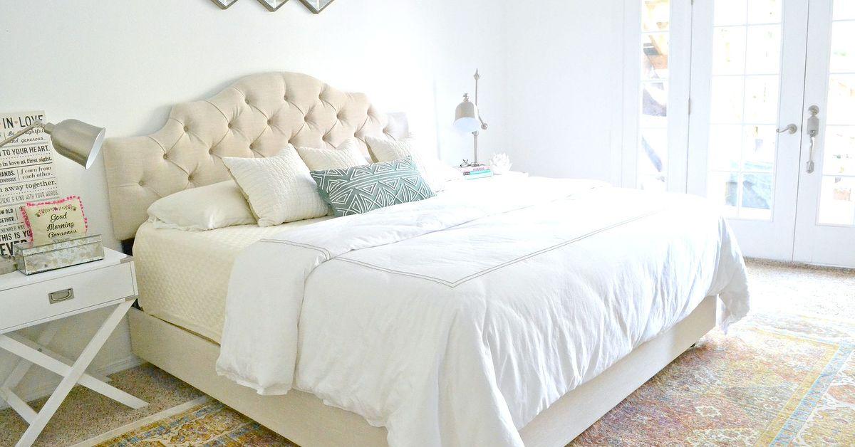 Chic Master Bedroom Makeover Update