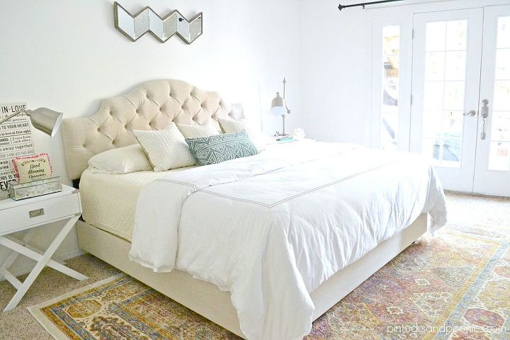 Chic Master Bedroom Makeover Update Hometalk
