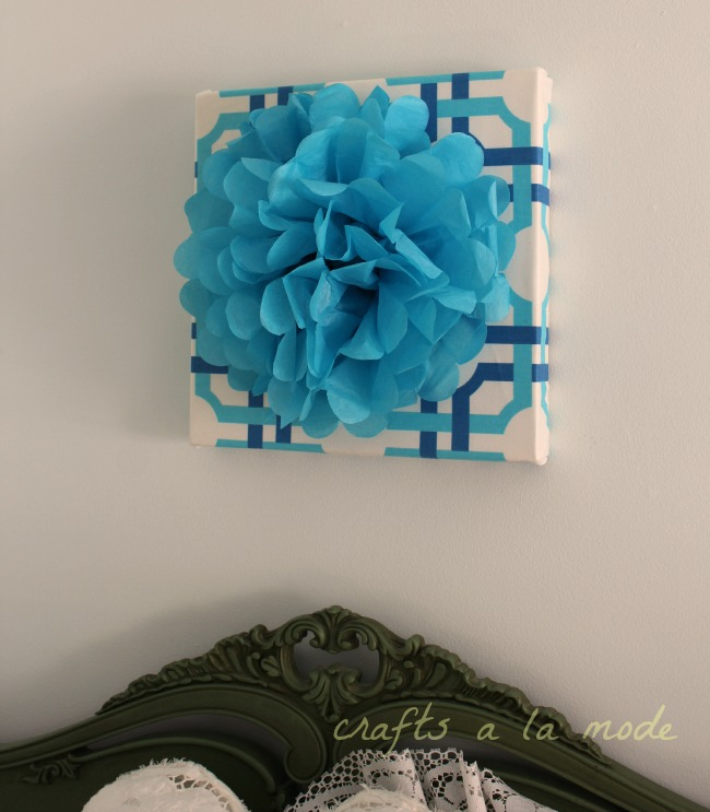 Create Your Own Paper Flower Wall Art for Under $5. | Hometalk