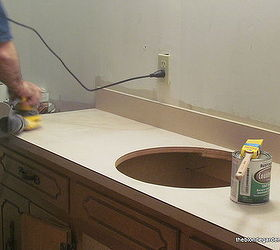 Merveilleux How To Paint A Formica Countertop, Bathroom Ideas, Countertops, How To,  Painting