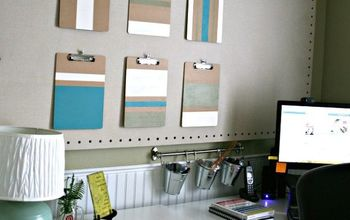ColorBlock Clipboards - Functional Wall Art
