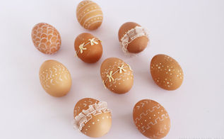 simple rustic style easter eggs, crafts, easter decorations, how to, seasonal holiday decor