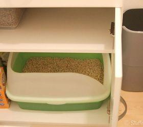 DIY Litter Box Furniture Cabinet | Hometalk