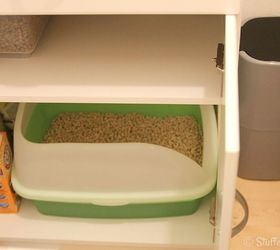 Diy Litter Box Furniture Cabinet, Kitchen Cabinets, Laundry Rooms,  Organizing, Pets Animals