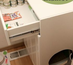 diy litter box furniture cabinet kitchen cabinets laundry rooms organizing pets animals