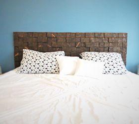 Good A Custom Removable Diy Wood Block Headboard For Cheap, Bedroom Ideas, Diy,  How