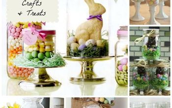 Easter Mason Jars for Gifts, Treats or Decor