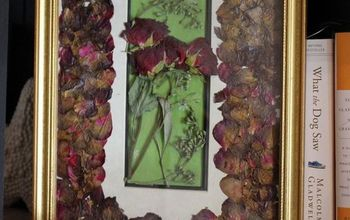 How to Create a Dried Flowers Frame