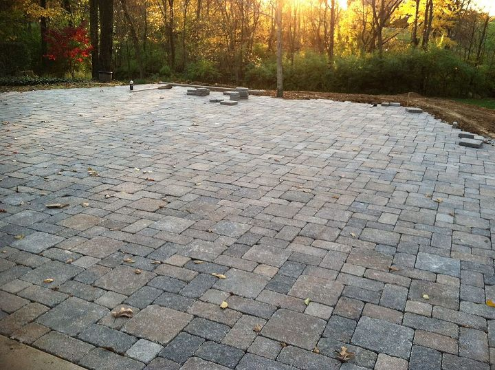 pavers pavers and more pavers, concrete masonry, how to, patio