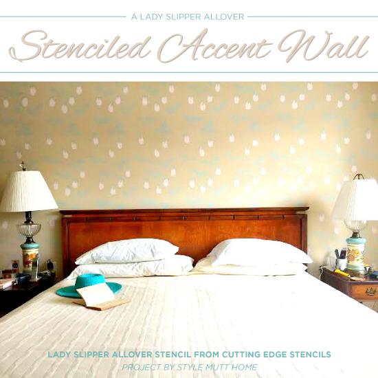 Stencils- Easy Way To Personalize A Master Bedroom | Hometalk