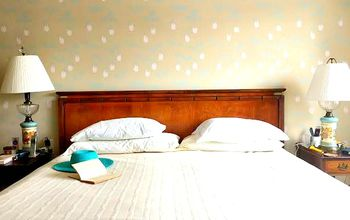 Stencils Are An Easy Way To Personalize Your Master Bedroom