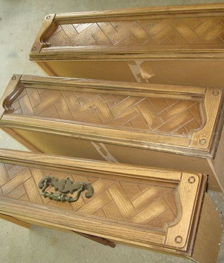 dresser drawer upcyle window boxes, container gardening, gardening, repurposing upcycling