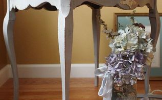 antique side table, chalk paint, painted furniture, repurposing upcycling
