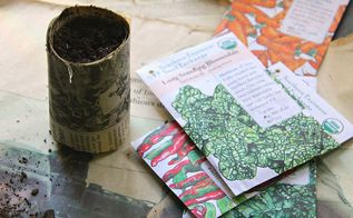 how to make biodegradable seed pots with newspaper, gardening, how to, repurposing upcycling