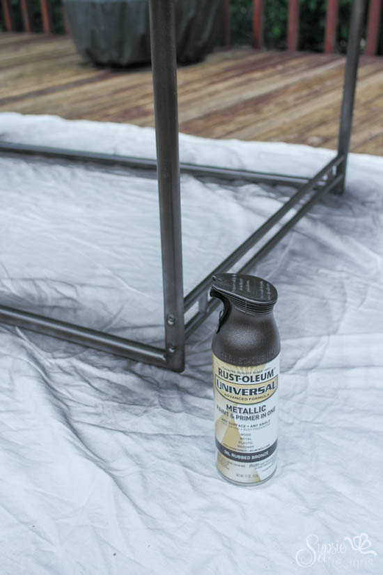 Ikea Industrial Farmhouse Table Hack Diy How To Painted Furniture Repurposing Upcycling