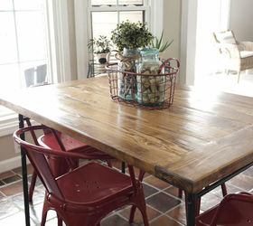 Ikea Industrial Farmhouse Table Hack, Diy, How To, Painted Furniture,  Repurposing Upcycling Sypsie Designs