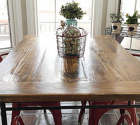 Ikea Industrial Farmhouse Table Hack, Diy, How To, Painted Furniture,  Repurposing Upcycling