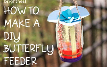 attract butterflies by making a diy feeder in 6 simple steps, crafts, gardening, how to, mason jars, pets animals, repurposing upcycling