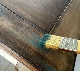 Dry Brush Old Wood Technique, Chalk Paint, How To, Painted Furniture