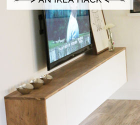 Good Diy Floating Sideboard Credenza, Diy, Entertainment Rec Rooms, Living Room  Ideas, Painted