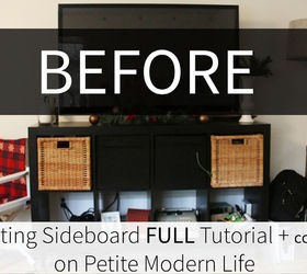 Diy Floating Sideboard Credenza, Diy, Entertainment Rec Rooms, Living Room  Ideas, Painted