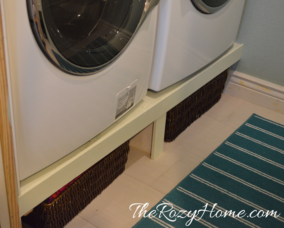 budget laundry room makeover, laundry rooms, shelving ideas, storage ideas