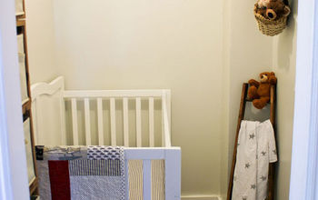 Turning a Closet Into a Baby Nursery