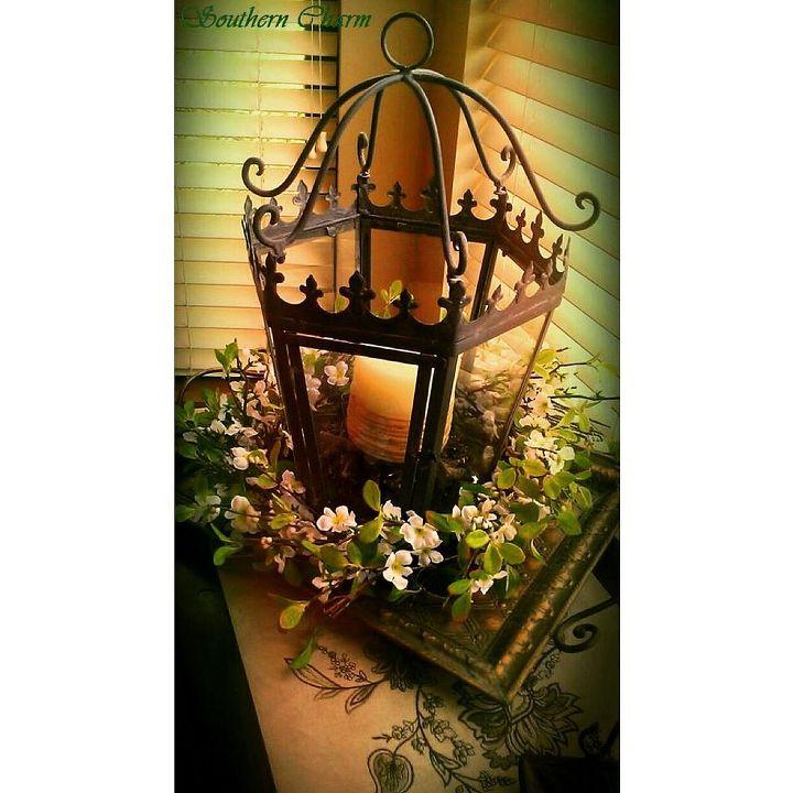 spring decor, home decor, seasonal holiday decor