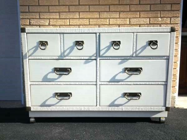 white lacquer dresser, painted furniture