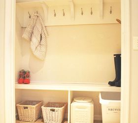 How To Create A Mudroom From A Closet, Closet, Foyer, How To,