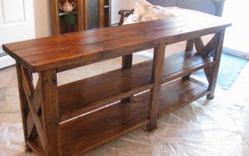 Building a Sofa Table