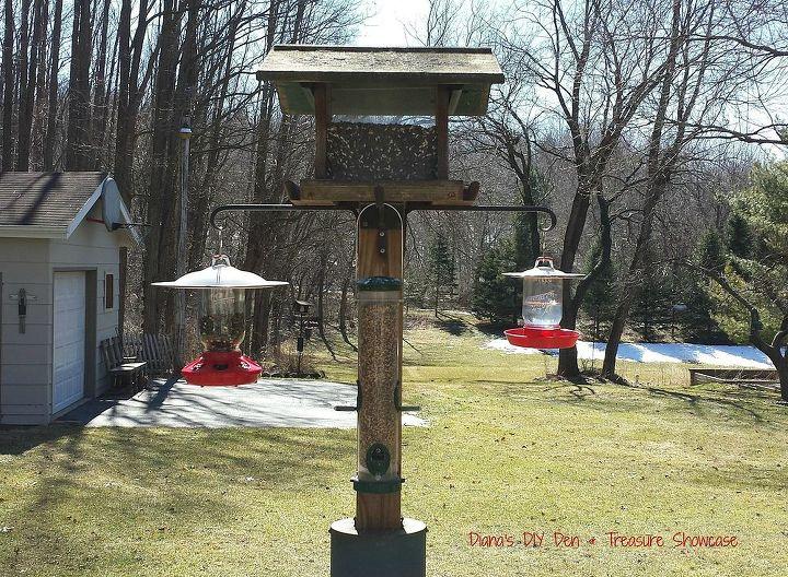 mason jar bird feeder, how to, mason jars, outdoor living, pets animals, repurposing upcycling