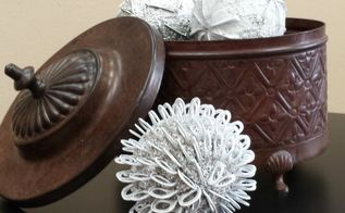 diy decorative balls using pull tabs yes, crafts, how to, repurposing upcycling