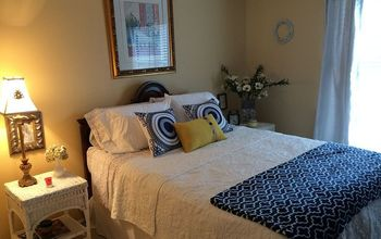 guest bedroom makeover, bedroom ideas, After Pic