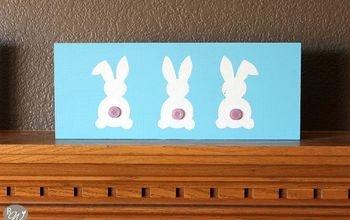 DIY Bunny Butts Spring Sign