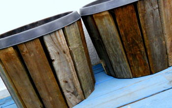 pallet wood planter project, container gardening, gardening, pallet, repurposing upcycling