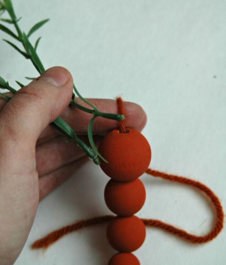 beaded wooden carrots, crafts, easter decorations, how to, repurposing upcycling, seasonal holiday decor