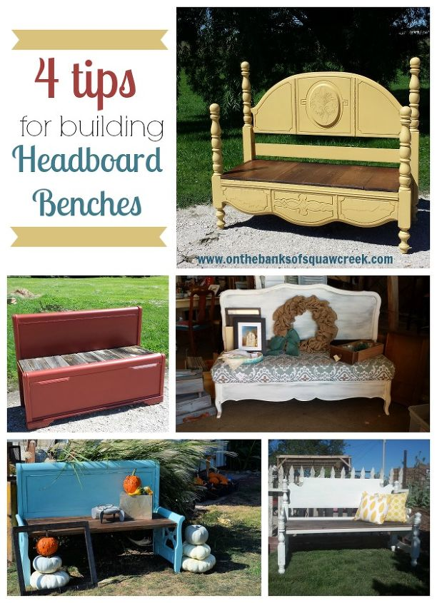 4 tips for diy headboard benches hometalk