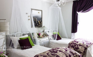 teen girls glamorous french bedroom on a budget, bedroom ideas, painting