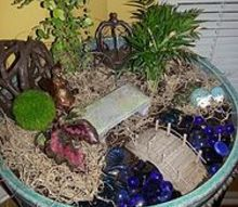 indoor fairy garden upgrade, container gardening, gardening, home decor