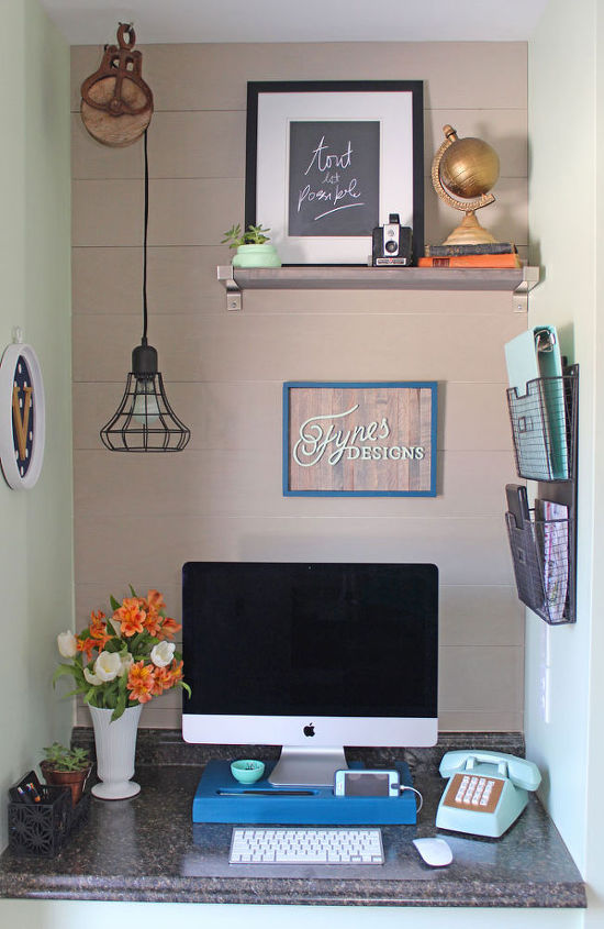 small office makeover, closet, home office, organizing, repurposing upcycling