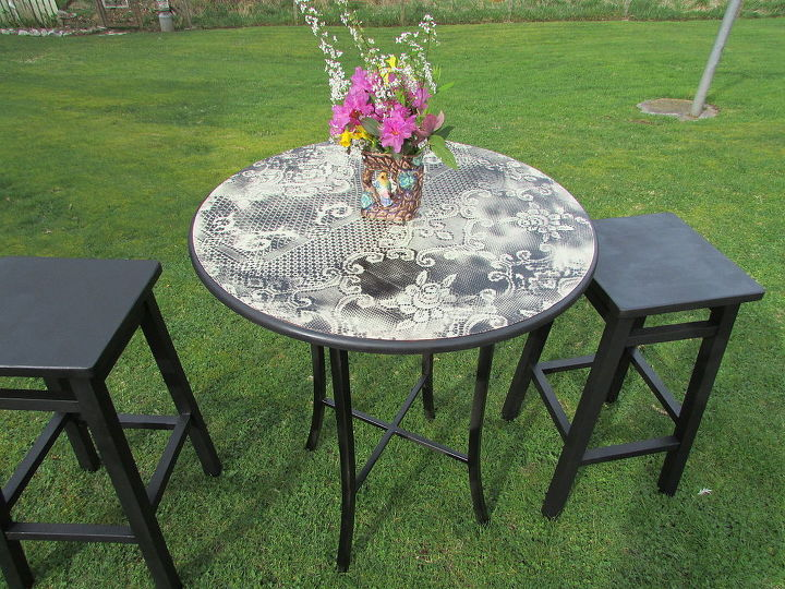 Pleasing Repurposed Garage Sale Tables Hometalk Caraccident5 Cool Chair Designs And Ideas Caraccident5Info