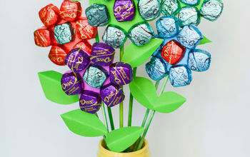 Easy Mother's Day Spring Chocolate Bouquet