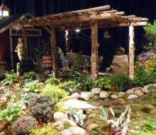 outdoor lifestyle backyard paradise, landscape, outdoor living, ponds water features, Outdoor Living Area